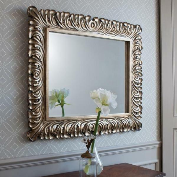 Barock spiegel mit silberrahmen es lohnt sich - Spiegel silberrahmen ...
