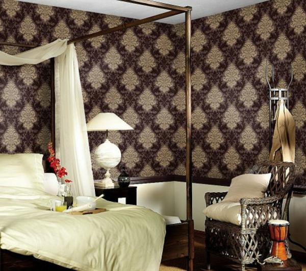 Barock Tapete Schlafzimmer : Barock Tapete ? 38 atemberaubende Fotos!