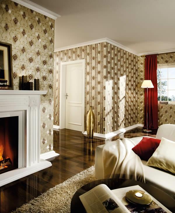 Barock tapete 38 atemberaubende fotos for Goldene tapete wohnzimmer