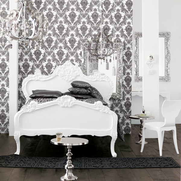 barock tapete 38 atemberaubende fotos. Black Bedroom Furniture Sets. Home Design Ideas