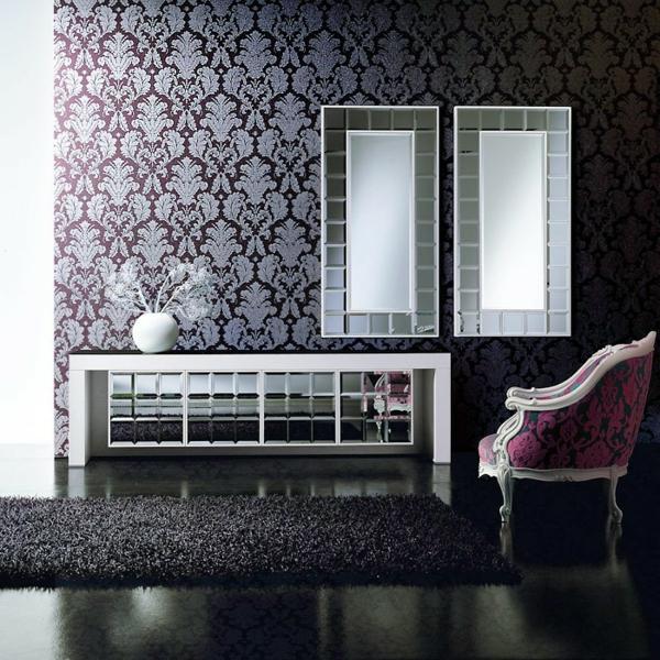 design wohnzimmer tapeten schwarz wei inspirierende