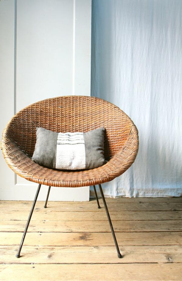 24 neue korbst hle designs f r eine moderne ausstattung. Black Bedroom Furniture Sets. Home Design Ideas