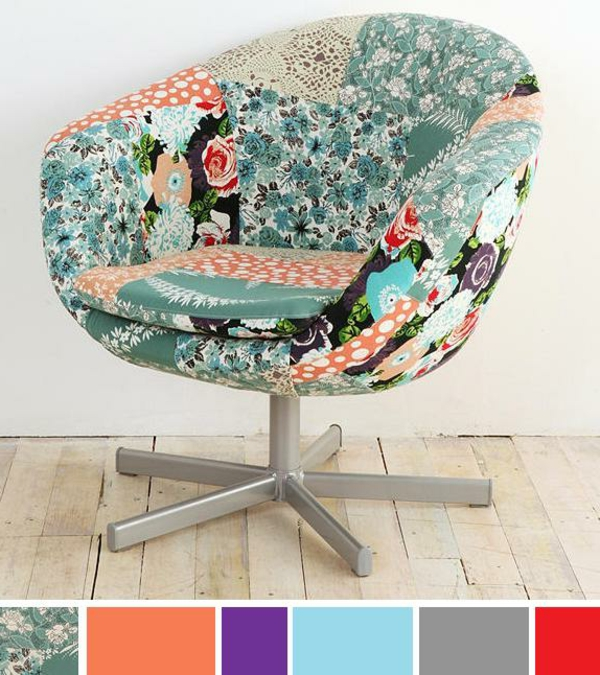 interessanter-Stuhl-Patchwork-Design