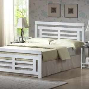 Schönes Bett in weiß - 34 prima Modelle!