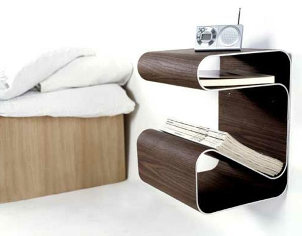 bett-tisch-kreatives-design-wunderschön-aussehen - mit interessanter form