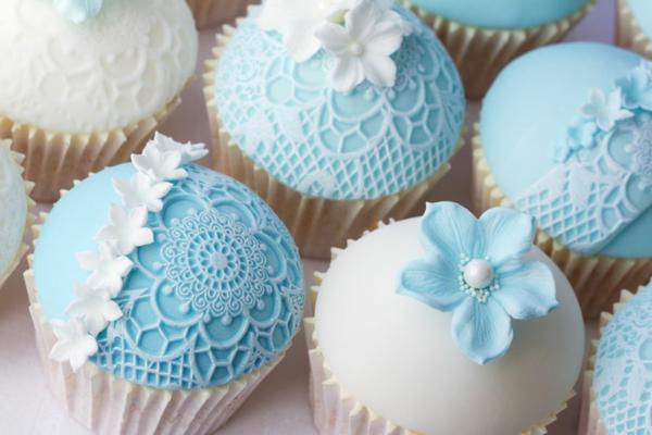 Hochzeits Cupcakes - wunderschöne Beispiele! - Archzine.net