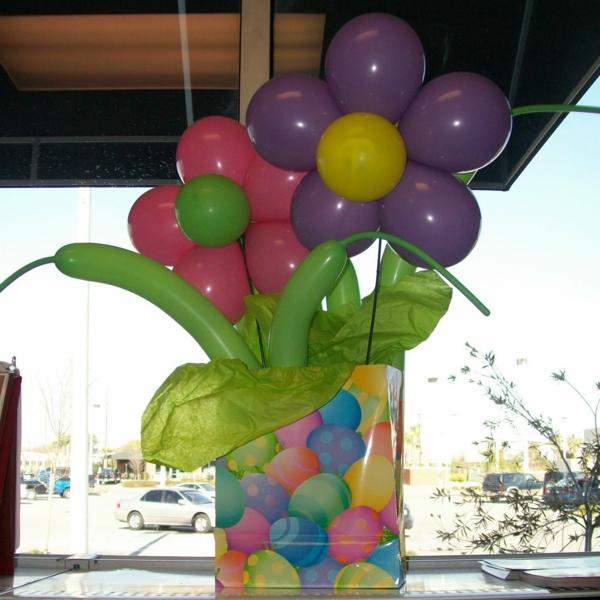 blumen-aus-ballons-moderne-partydeko - moderne gestaltung