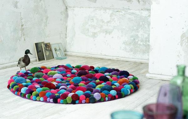 Kleine runde teppiche sehen so süß aus archzine