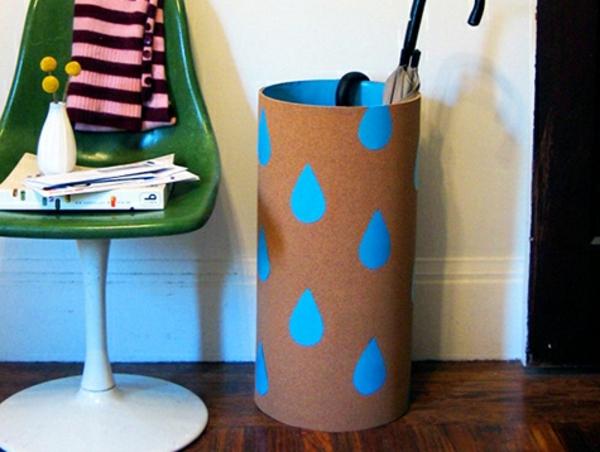 coole-Regenschirm-Aufbewahrung