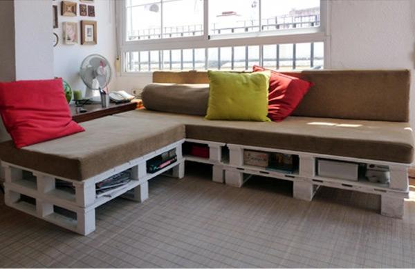 Sofa Aus Paletten Bauen sofa aus paletten 42 wunderschöne bilder archzine
