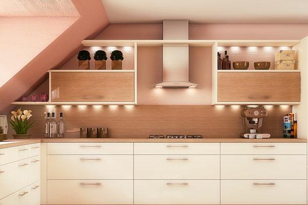 Wandfarbe Apricot - warm und gemütlich! - Archzine.net
