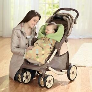 Decke für Kinderwagen - für Baby Mädchen und für Baby Jungen!