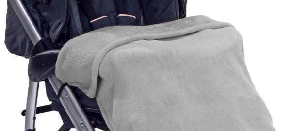 decke-für-kinderwagen-graue-farbe