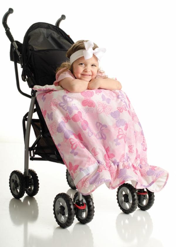 decke-für-kinderwagen-pink-farbe