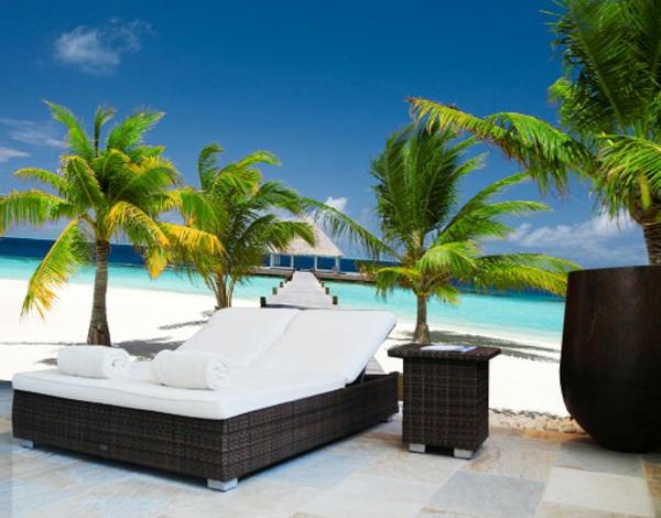 warum ist die deko - palme so attraktiv? - archzine.net - Schone Schlafzimmer Deko