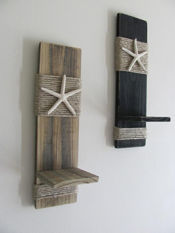 originelle dekoration aus holzpalleten. Black Bedroom Furniture Sets. Home Design Ideas