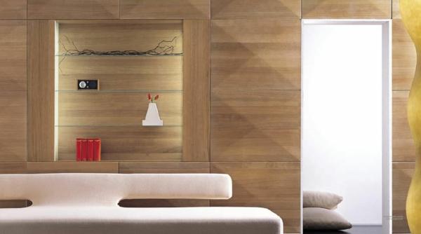 deko   paneele-elegantes-zimmer-gestalten - extravagantes sofa in beige