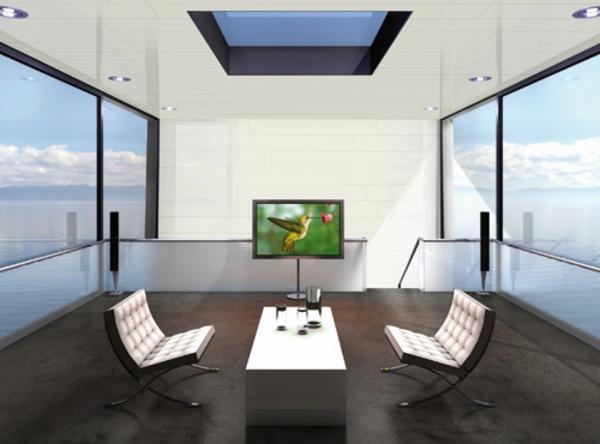 deko    paneele-in-einem-schönen-zimmer - gläserne wände