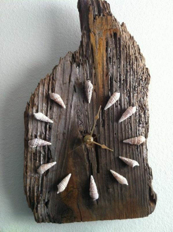 AuBergewohnlich Tolle Dekorative Wanduhr Selber Machen Wanduhr Aus Holz ...
