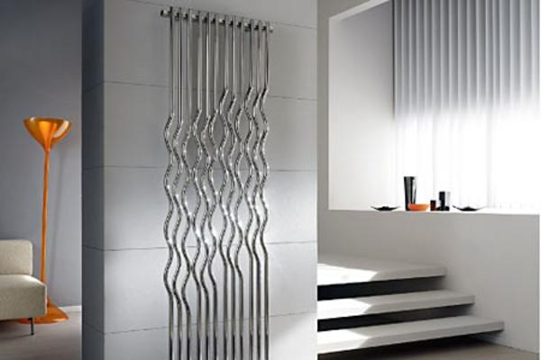 design-vom- badheizkörper - treppen