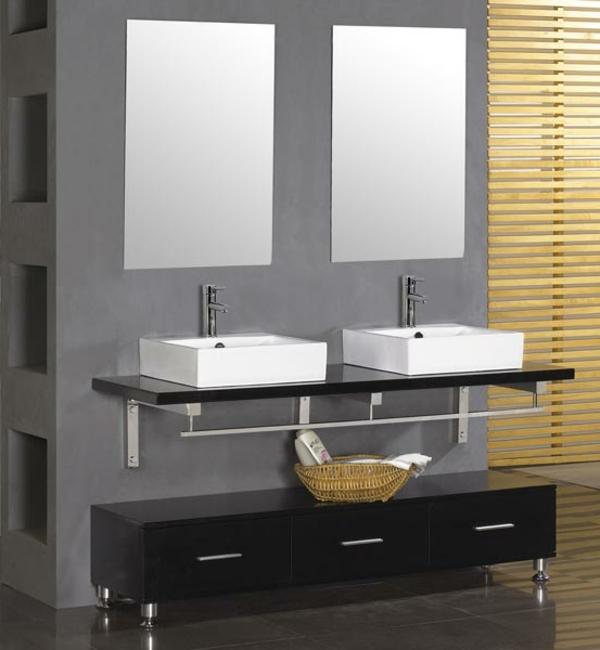 modernes-badezimmer-zwei-waschtische