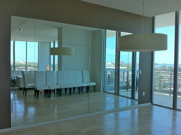 Spiegelwand in der Wohnung? 42 coole Ideen!