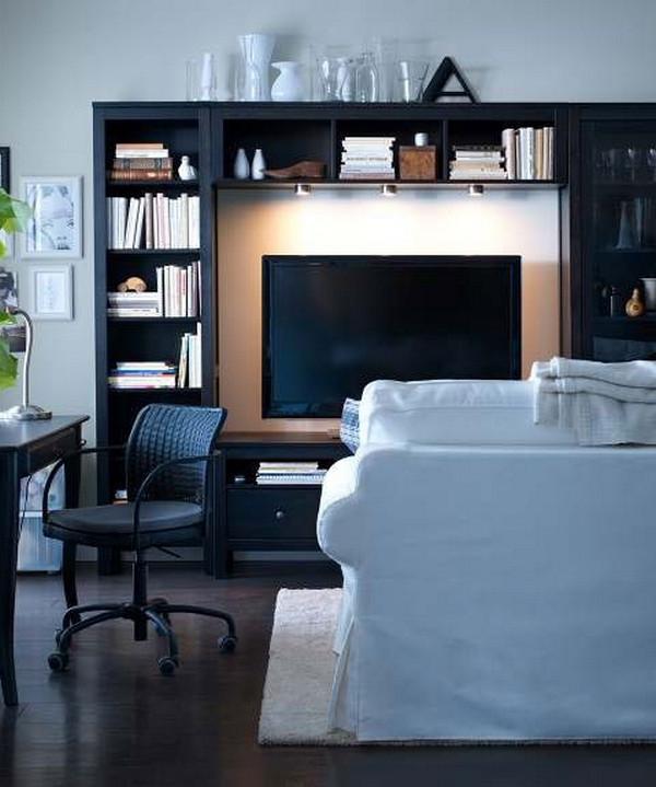 wohnzimmer ikea bilder:einrichtungstipps-fürs- wohnzimmer-luxuriöse-ikea-gestaltung