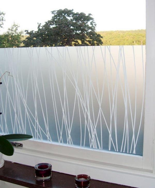 Badezimmer Fensterfolie, sichtschutzfolie für badezimmer- interessante ideen! - archzine, Design ideen