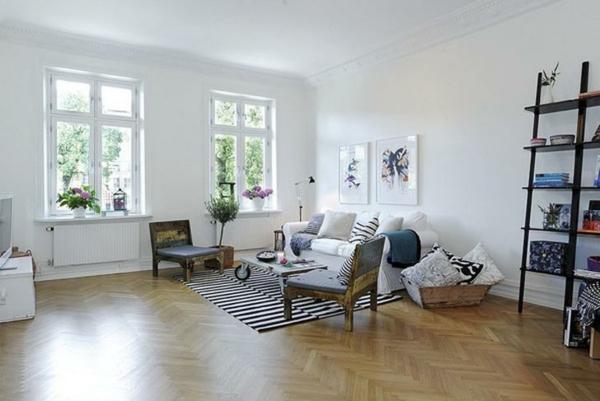 elegantes-zimmer-im-skandinavischen-stil- modern