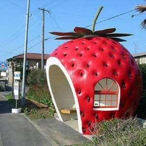 Kreative Bushaltestellen