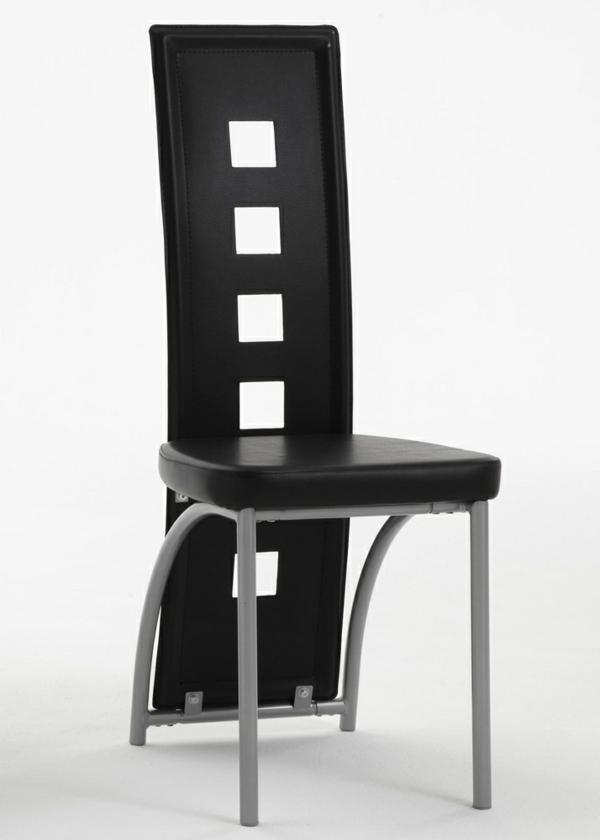 esszimmerstühle-in-schwarz-interessantes-modell