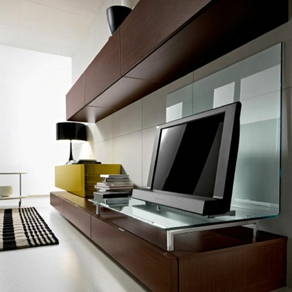 exklusive-tv-möbel-modern- in brauner farbe