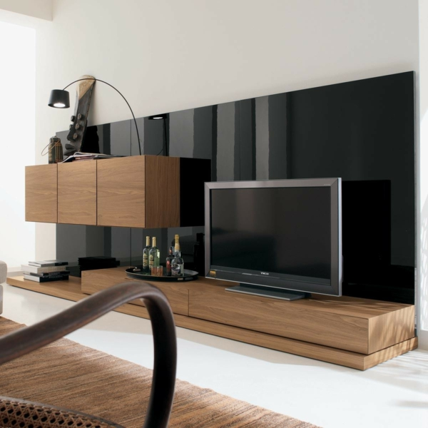 tv m bel wand. Black Bedroom Furniture Sets. Home Design Ideas