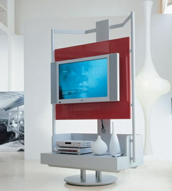 moderne gestaltung für wohnzimmer - helle farben - ein tvä- tisch