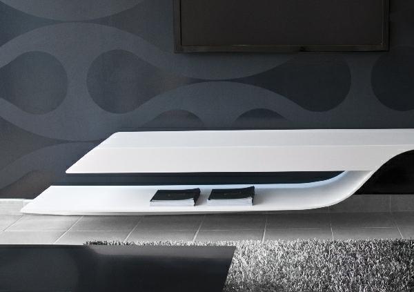 exklusive-tv-möbel-ultramodernes-design in weiß