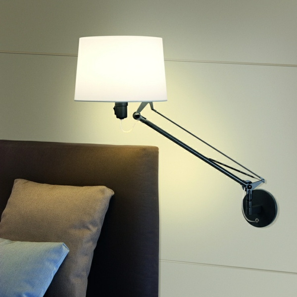 Leselampe f r bett tolle ideen - Leselampe wand ...