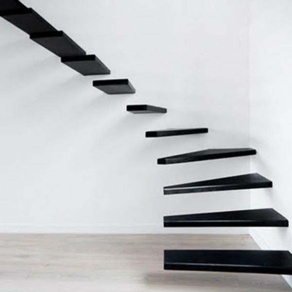 Freitragende treppe   coole ideen!   archzine.net