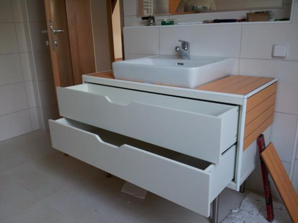 waschbeckenunterschrank mit schubladen 32 designs. Black Bedroom Furniture Sets. Home Design Ideas