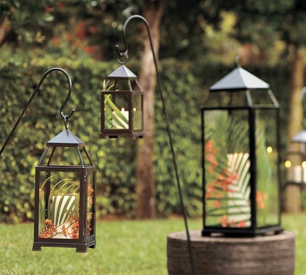 garden-lantern-idee-schöne-gestaltung