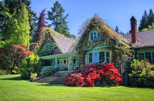 Gartengestaltung Haus Idee Für Design