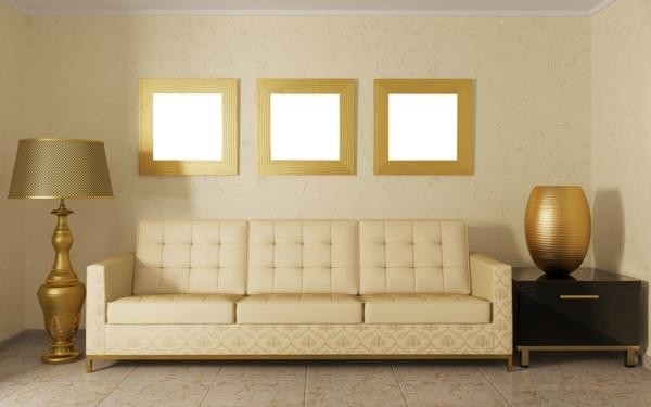 goldene-wandfarbe-goldenes-interior