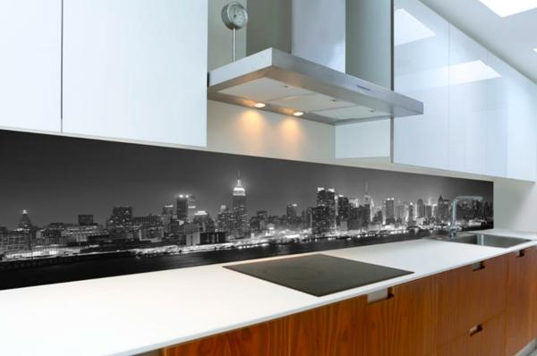 graue-wandpaneele-für-küche- moderne gestaltung