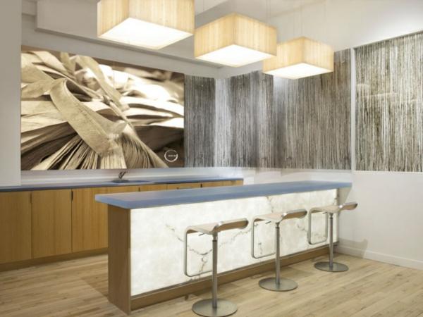 große-küche-modern-gestalten- beige farbe