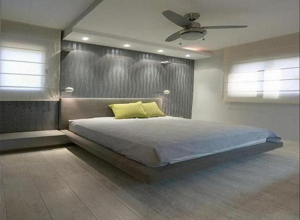 schlafzimmer wohnwand mit bett inneneinrichtung und m bel. Black Bedroom Furniture Sets. Home Design Ideas