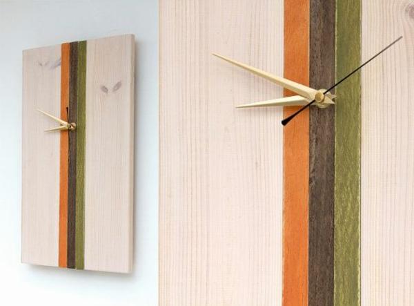 Wohndesign Kleine Badezimmer Ideen Images. Wanduhr Aus Holz