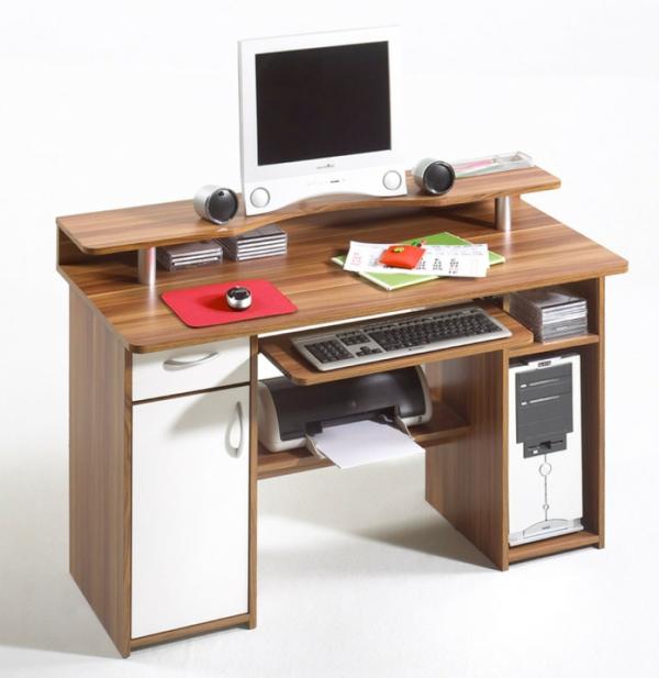 entscheiden sie sich f r einen schreibtisch mit aufsatz. Black Bedroom Furniture Sets. Home Design Ideas