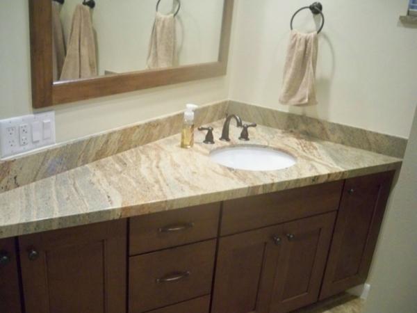 Bade Zimmer eckwaschbecken mit unterschrank fürs badezimmer archzine