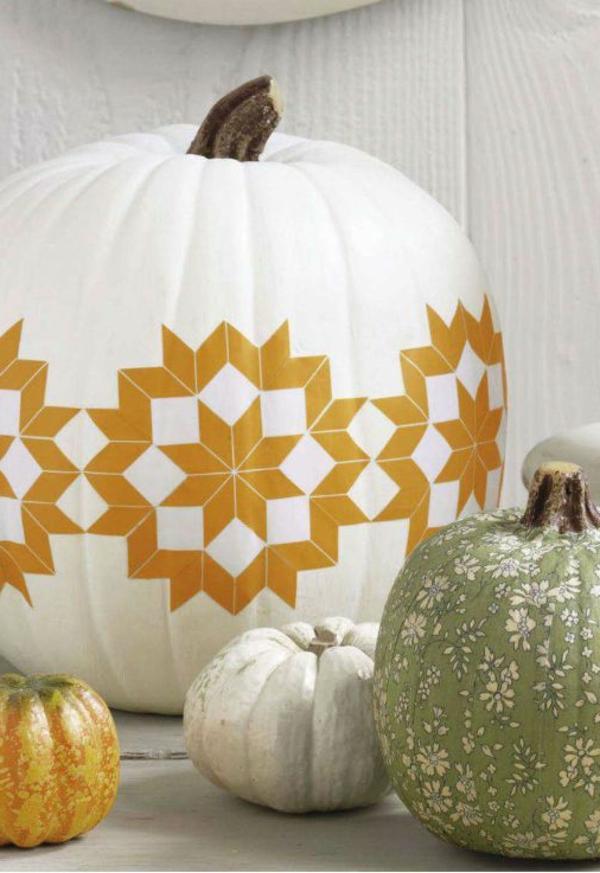 herbstliche-dekoration-kürbis-deko-gold