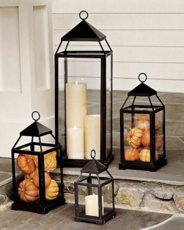 herbstliche dekoration oder den herbst zu gast einladen. Black Bedroom Furniture Sets. Home Design Ideas