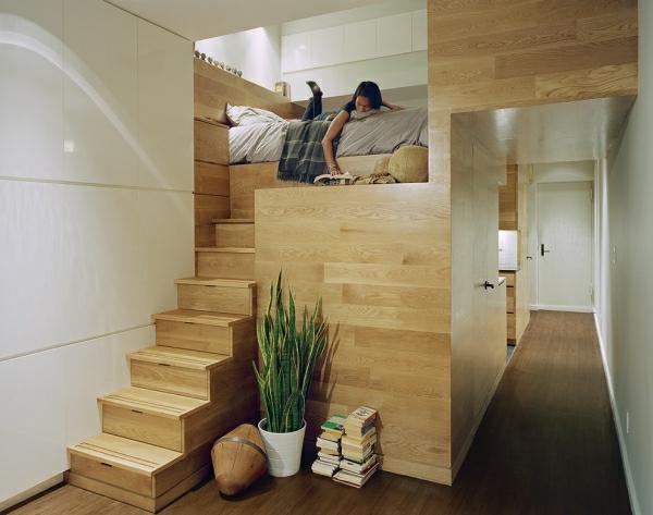 Hochbett design  Hochbett mit Treppe - tolle Vorschläge - Archzine.net